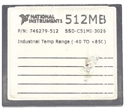 COMPACT FLASH NATIONAL INSTRUMENTS 512MB-İKİNCİ EL